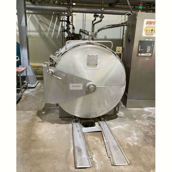 Autoclave steriflow barriquand 4 paniers-1